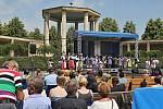 Vystoupení pěveckých sborů // Pietní vzpomínka k 76. výročí vyhlazení obce Lidice
