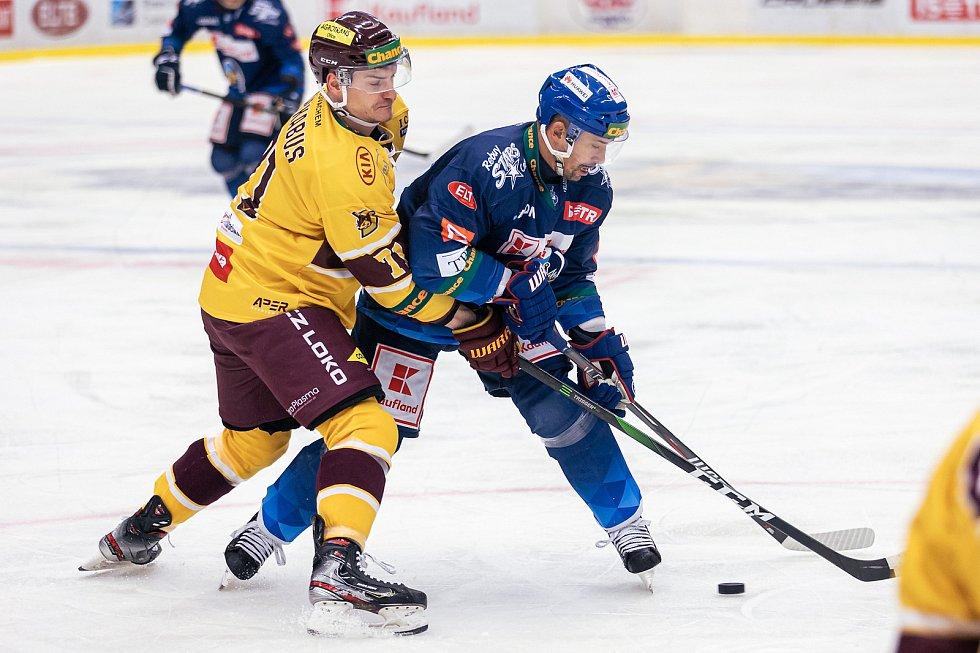 Šlágr hokejové Chance ligy Kladno - Jihlava okořenil návrat Jaromíra Jágra na led. Tomáš Plekanec
