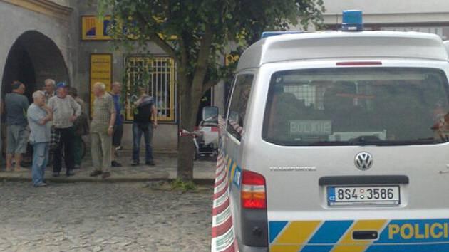 Tragická událost se stala v centru Velvar.