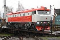 Lokomotiva Bardotka.