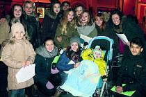 Vánoční koncert pro Hynečka dětí ze slánských škol