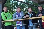 7. ročník Memoriálu M. Ježka opět ozdobily hvězdy hokejového i fotbalového nebe.
