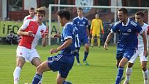 MOL Cup, 3. kolo: Slovan Velvary - Slavia Praha (2:4)