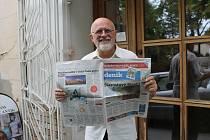 Jiří Hruška, ambasador Kladenského deníku