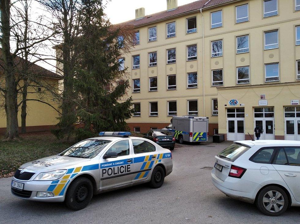 ZŠ Moskevská v Kladně - místo tragédie.