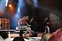 Koncert Michala Davida ve Slaném