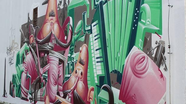 Streetart - ilustrační foto