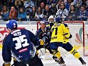 Kladno (v modrém) přivítalo doma vedoucí tým WSM ligy - Přerov.