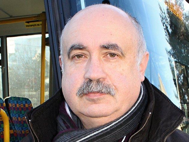 Ludomír Landa, 60let, ředitel ČSAD MHD Kladno, Unhošť