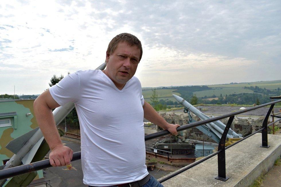 Bunkr v Drnově.