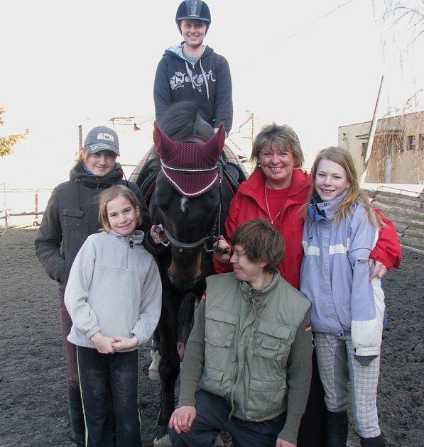 Jezdecký klub v Řisutech má své stálé příznivce