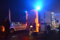 Na silnici u Velvar srazilo auto cyklistu, ten na místě zemřel.