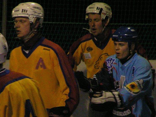 Jungle Fever budou v baráži spoléhat i na Jana Náprstka (vlevo) a Stanislava Bartáka.