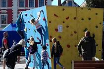 Tradiční slánská akce, Rožnění uherského býka a Finále Boulderzávody 2019.