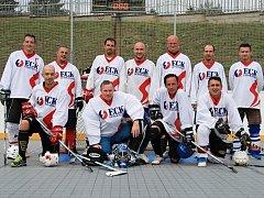 Vítězný tým ECKG Kladno