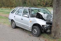 Dopravní nehoda se smrtelným zraněním se stala v neděli na vedlejší silnici za Zlonicemi ve směru na Šlapanice.