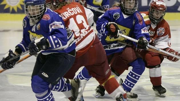 Hokejistky Kladna tentokrát na Slavii nestačily.