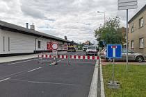 Oprava křižovatky ulic M. Horákové, J. Kociána a Vodárenská.