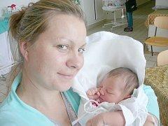 Nela Beznozková, Libušín. Narodila se 30. srpna 2014. Váha 3,20 kg, míra 48 cm. Rodiče jsou Dana a Antonín Beznozkovi (porodnice Kladno).