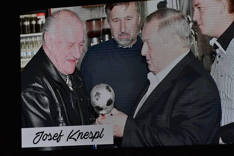 Z vyhlášení sportovce roku na Masarykově náměstí ve Slaném.