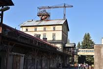 Hornický skanzen Mayrau ve Vinařicích.