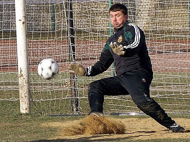 Martin Hájek hájil bránu Lhoty a inkasoval jedinkát, když fauloval a soupeř proměnil penaltu.
