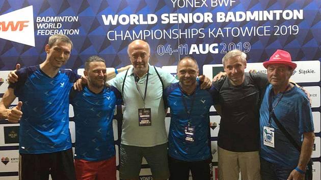 Výprava českých veteránů na badmintonovém MS v Katowicích