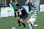 Tomáš Vlasatý a Lukáš Dolejš // SK Lhota - SK Doksy 2:1 (2:0), utkání I.A. tř., 2010/11, hráno 10.10.2010