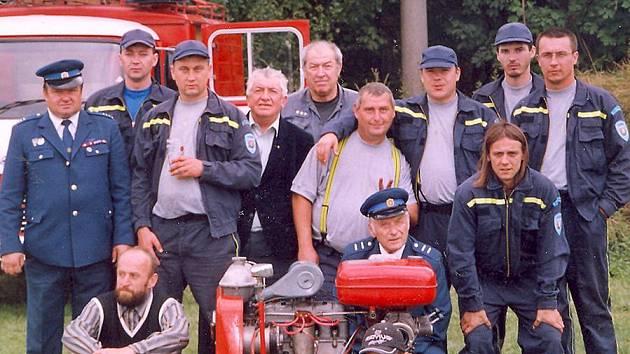 Část členů HZS Klobuky