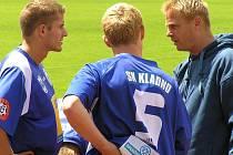 Jiří Kabele (vlevo) byl nejlepším hráčem rezervy.