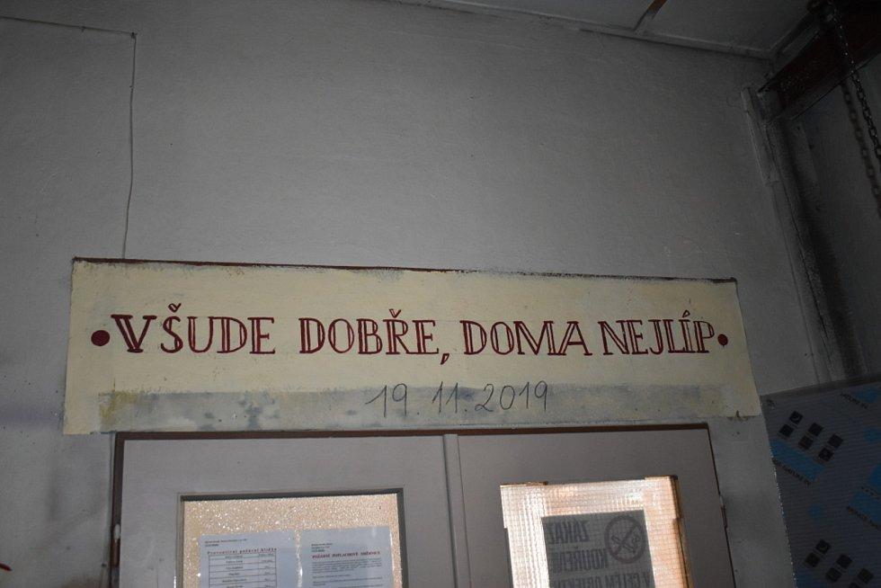 Rekonstrukce dílen Městského divadla Kladno.