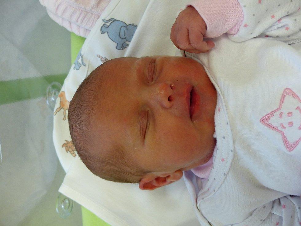 Adéla Drahorádová se narodila 18. prosince 2020 v kolínské porodnici, vážila 2650 g a měřila 45 cm. Do Malešova odjela s maminkou Veronikou a tatínkem Jakubem.