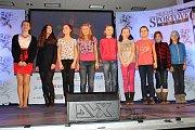 Třetí místo v kategorii kolektivy - junioři získalo družstvo Skola Slaný v Teamgymu.