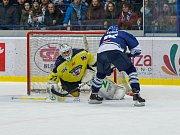 Kladno - Ústí, 2. zápas play off. Nájezd Tona gólem neskončil.
