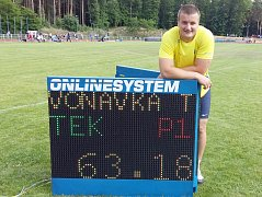 Tomáš Voňavka a jeho evropský limit.