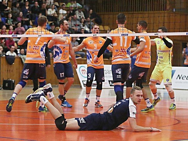 Kladno volejbal cz - FATRA Zlín 3:0, EL volejbalu, 17. 2. 2018