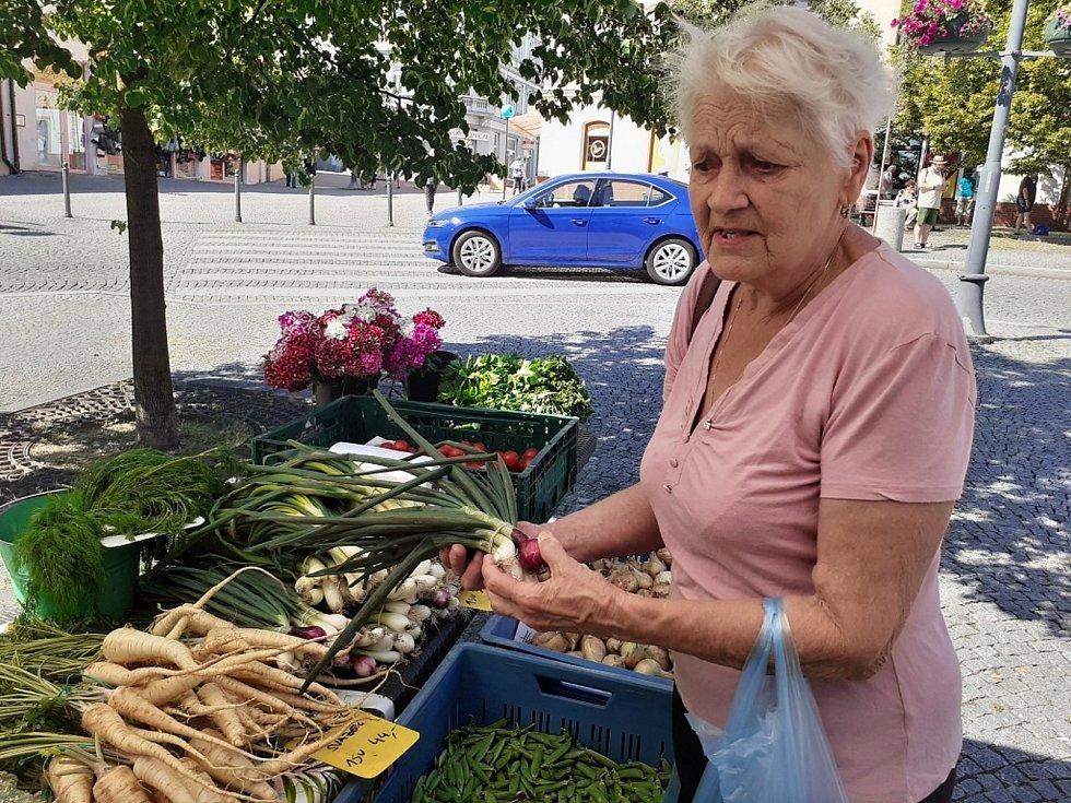 Farmářské trhy v Kladně.