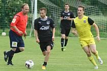SK Hřebeč - HC Sparta 4:4, benefiční zápas byl sehrán 19. 6. 2016 ve Hřebči