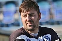 Jaroslav Tesař byl po utkání hodně naštvaný ... / SK Kladno, z. s. - FK Meteor Praha VIII, z.s. 1:2 (0:1) Pen: 4:5, DIVIZE B, 26. 10. 2019