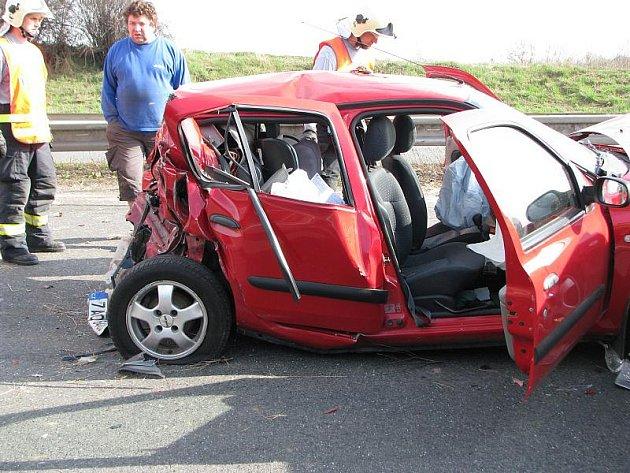 Tragická dopravní nehoda na R7
