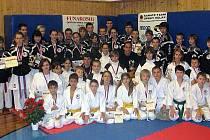 Keiko-ryu Shotokan Kladno na Funakoshi Cupu v Zákupech u České Lípy.