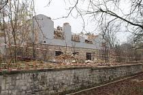 Demolice a výstavba v bývalých slánských Kyjevských kasárnách.