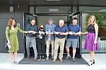 Otevření a prohlídka nového pavilonu Barevné školy Tuchlovice.