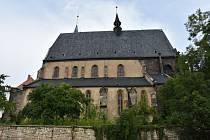 Kostel svatého Gotharda ve Slaném.