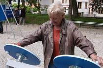 Podobné hřiště pro seniory by zanedlouho mohlo vzniknout i v Kladně.