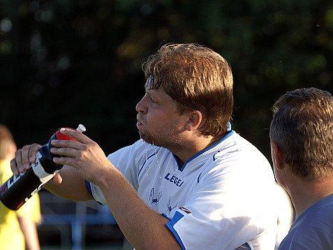 Trenér úspěšných žáků Kladna Martin Škvára