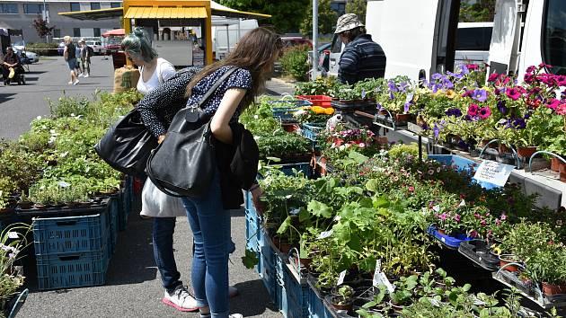 Farmářské trhy v Kročehlavech