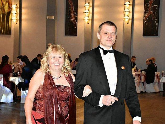 Ples hospodářské komory v Kladně.