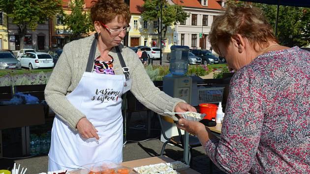 Den zdraví se v úterý konal na Masarykově náměstí ve Slaném.