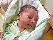 ŠIMON PELANT, ZVOLENĚVES. Narodil se 12. prosince  2017. Po porodu vážil 3,18 kg a měřil 50 cm. Rodiče jsou Aneta Pelantová a Václav Šafr. (porodnice Slaný)